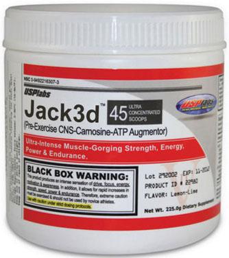 USP Labs Jack 3D