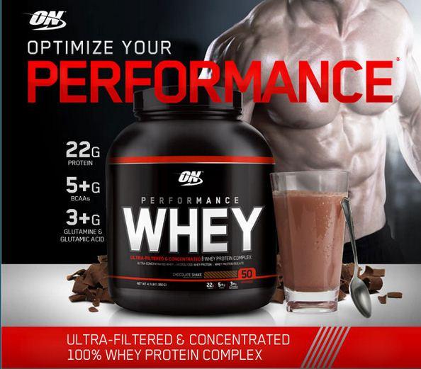 Optimum Nutrition Whey Performance | Jual Suplemen ON Whey ...