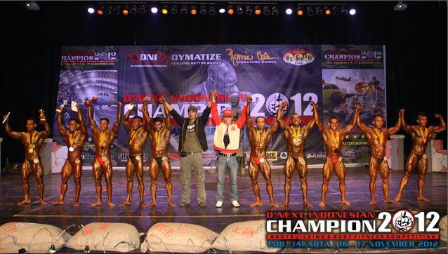 ... Champion 2012 yang diselenggarakan oleh PT. Dunia Nutrisi Indonesia