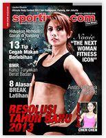 Majalah Sportindo Januari 2013