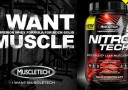 MuscleTech Nitro-Tech Performance Series Banner