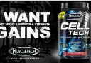 MuscleTech Cell Tech Perfomance Series banner