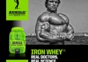 Arnold Series Iron Whey Banner
