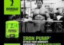 Arnold Series Iron Pump Banner