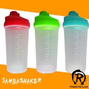 samba shaker bottle