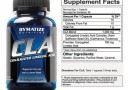 Dymatize CLA Nutrition Facts