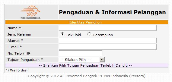 layanan customer service pos indonesia