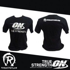 t-shirt optimum nutrition black