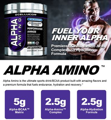 Suplemen Cellucor Alpha Amino