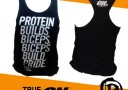 Singlet Gym Optimum Nutrition Biceps Build Pride