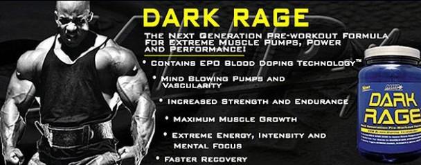 MHP Dark Rage Pre Workout