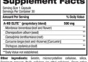 BPI A HD ELITE Nutrition Facts