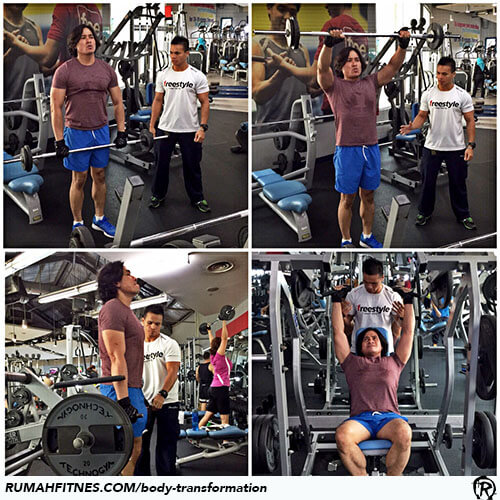 Body Transformation Ardorozi Faizal