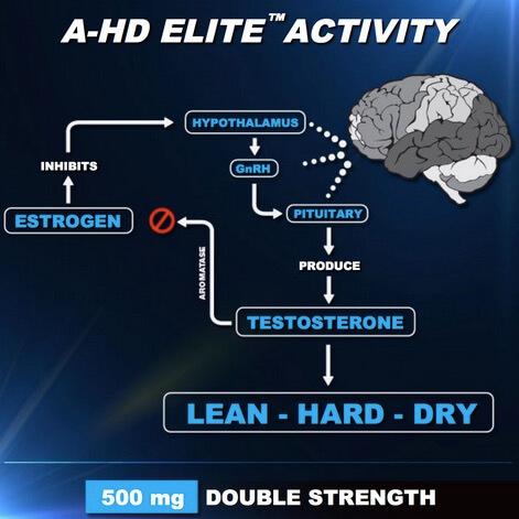 Peningkat Hormon BPI A HD ELITE