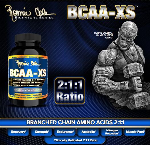 Suplemen Ronnie Cole BCAA XS