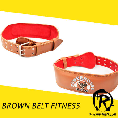Belt Fitness Semi Kulit