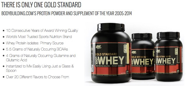 Keunggulan ON Whey Gold
