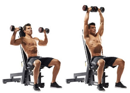 Gerakan Shoulder Press