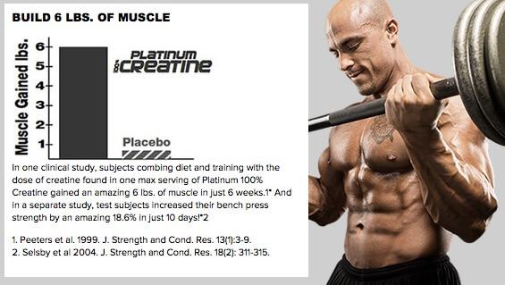Manfaat Suplemen Platinum Creatine