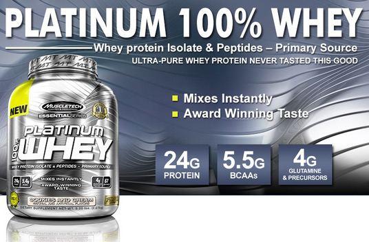 Suplemen Muscletech Platinum Whey Protein