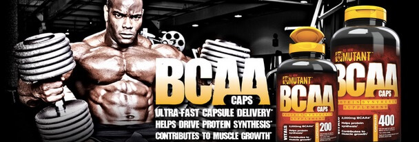 Suplemen Mutant BCAA Caps