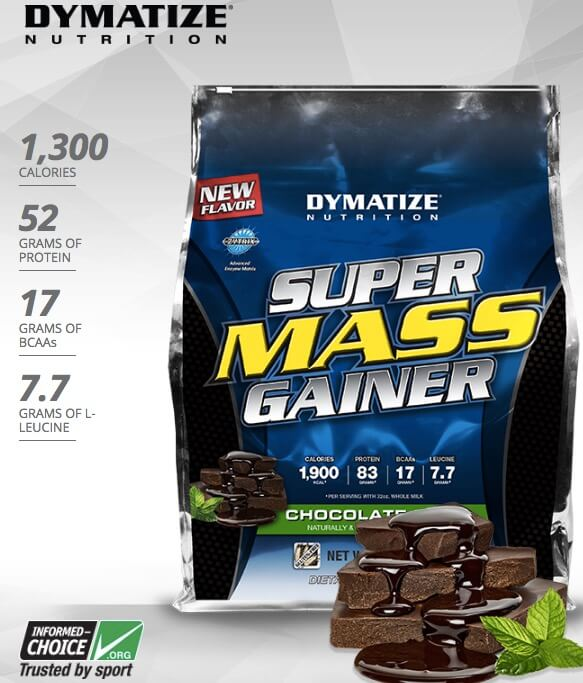 Suplemen Fitness Dymatize Super Mass Gainer 12LBS