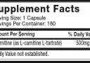 Kandungan Nutrisi Platinum Carnitine