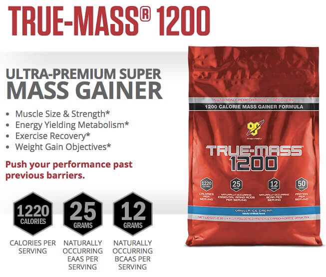 Suplemen True-Mass 1200