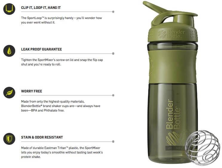 Botol Shaker Blender SportMixer