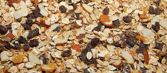 Sereal Muesli Dried Fruit