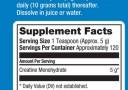prolab creatine monohydrate facts