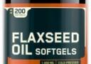 Optimum Nutrition Flaxseed Oil Softgels