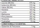 Dymatize Super Amino 6000 Nutfacts