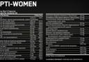 Opti Women Nutfacts