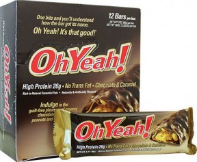 ISS Oh Yeah Protein Bars